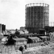 Gasbehälter 1923 © Werner Lindner
