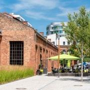 Café im Wasserturm ( ⓒ Andreas Schwarz / EUREF AG)