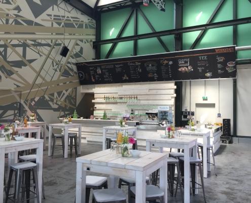 Werkstatt – Foyer / Empfang ( ⓒ EUREF AG)