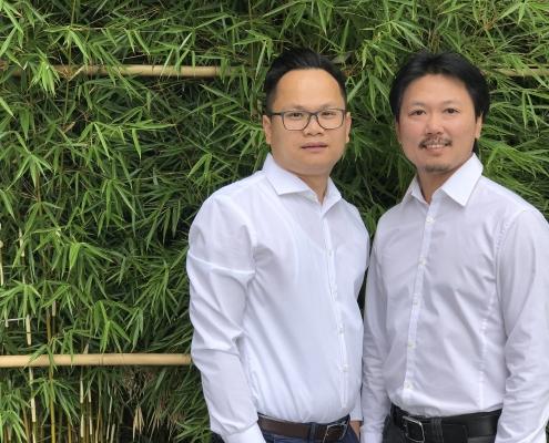 Geschäftsführer Huu Phap Tran und Lu Kieu ( ⓒ EUREF AG)