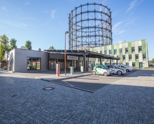 EUREF-Campus ZeeMo Base (ⓒ Ricarda Spiegel / EUREF AG)