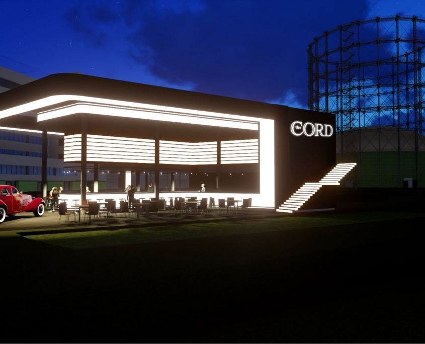 The Cord (Rendering, ⓒ EUREF AG)