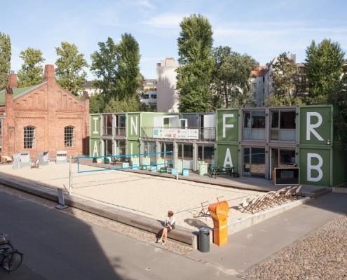 EUREF-Campus Infralab (© Infralab Berlin)