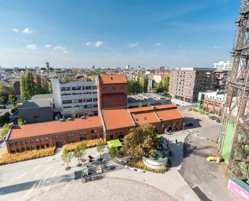 EUREF-Platz (© EUREF AG / Andreas Schwarz)