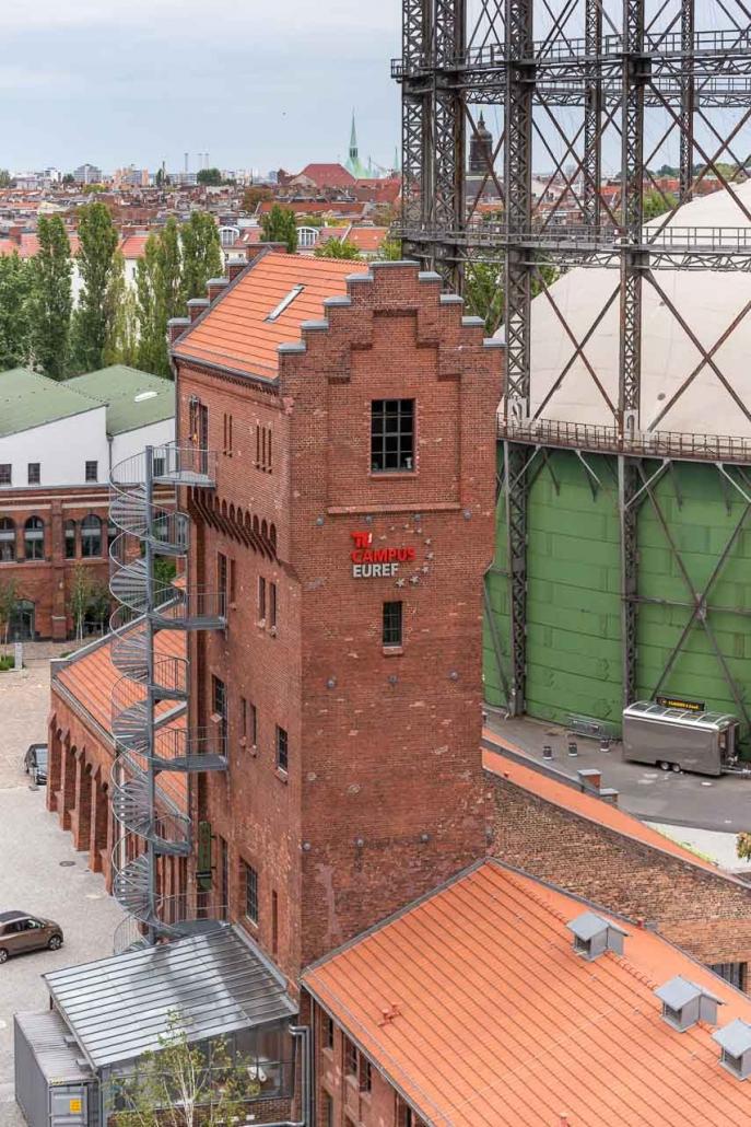 EUREF-Campus Wasserturm (© EUREF AG / Andreas Schwarz)