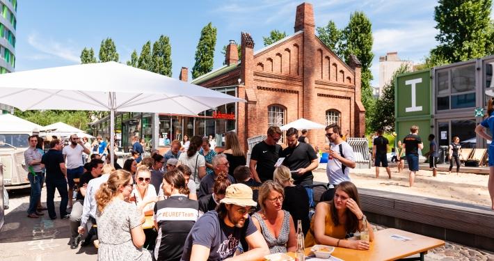 Euref Sommerfest 2018 (© EUREF AG / Andreas Schwarz)