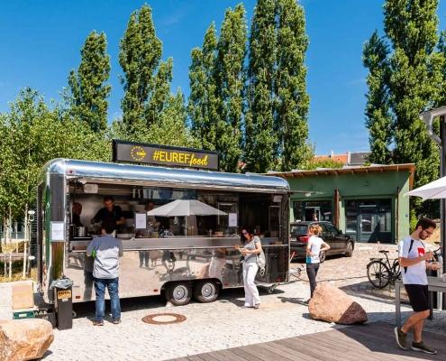 Foodtruck EUREF Sommerfest 2018 ( ⓒ Andreas Schwarz / EUREF AG)