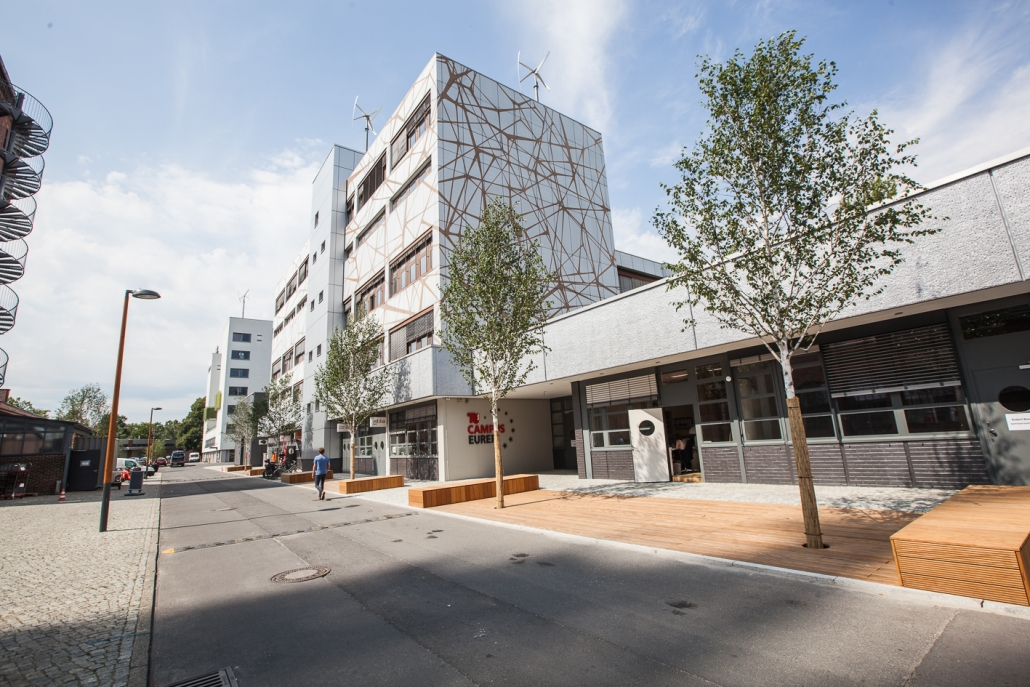 TU-Campus EUREF (© EUREF AG / Ricarda Spiegel)