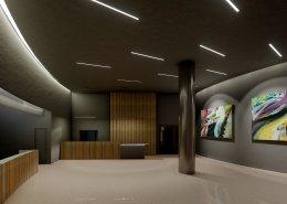 Rendering Garderobe ©EUREF-Consulting
