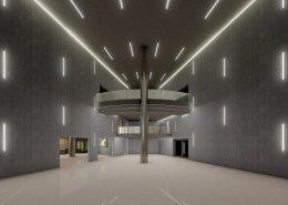 Lobby Konferenzzentrum © EUREF-Consulting
