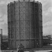 Gasbehälter 1913 © Hilmar Bärthel