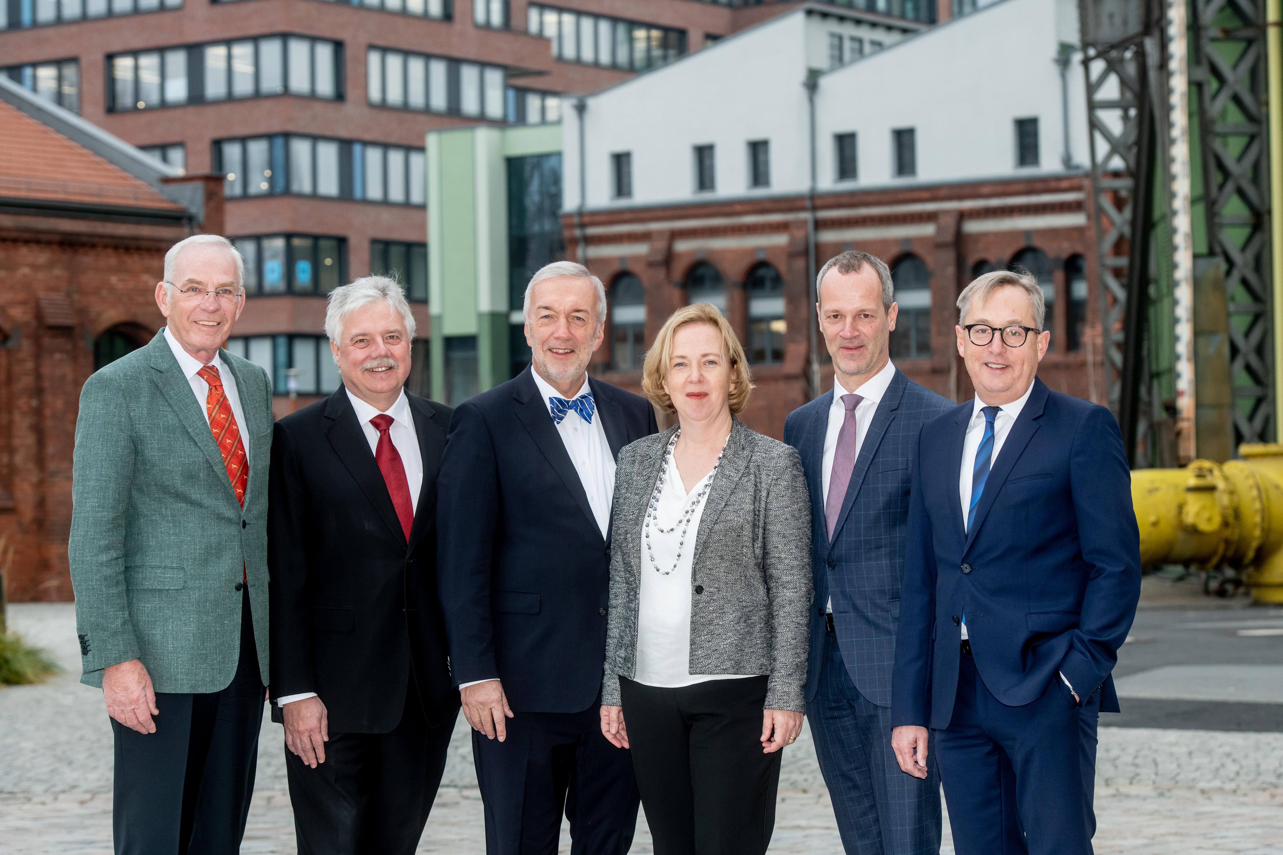 Aufsichtsrat & Vorstand EUREF AG (© Christian Kruppa / EUREF AG)