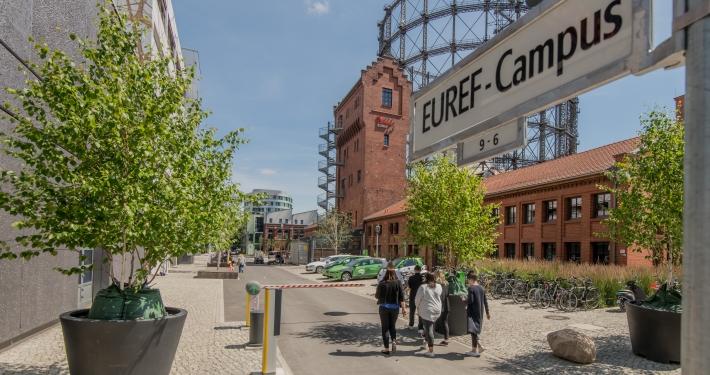 TU Campus EUREF (© EUREF AG / Christian Kruppa)