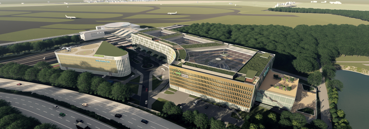 Düsseldorf Luftbild © EUREF-Consulting mbH
