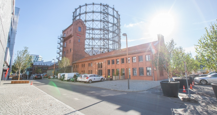 EUREF-Campus Berlin (© Ricarda Spiegel / EUREF AG)