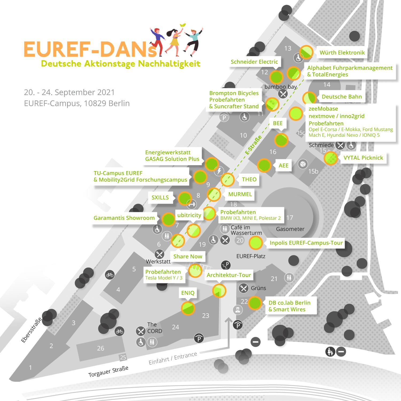 EUREF Campusplan DAN