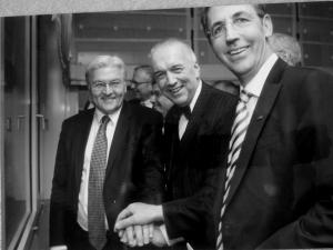 Stephan Kohler, Reinhard Müller, Frank-Walter Steinmeier