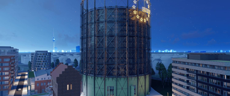 Nacht_Gasometer_© EUREF-Consulting