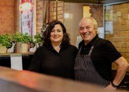 Pino und Maria, Schmiede ( ⓒ Andreas Schwarz / EUREF AG)
