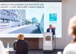 Richtfest EUREF-Campus 1-2 © Andreas Schwarz / EUREF AG