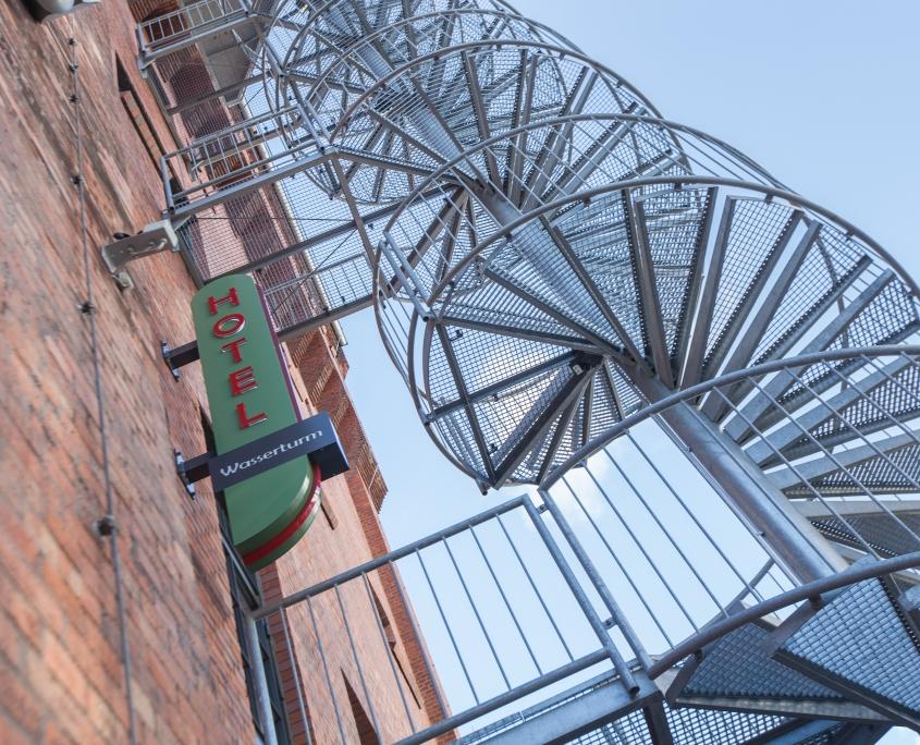 Hotel Wasserturm (© Ricarda Spiegel / EUREF AG)