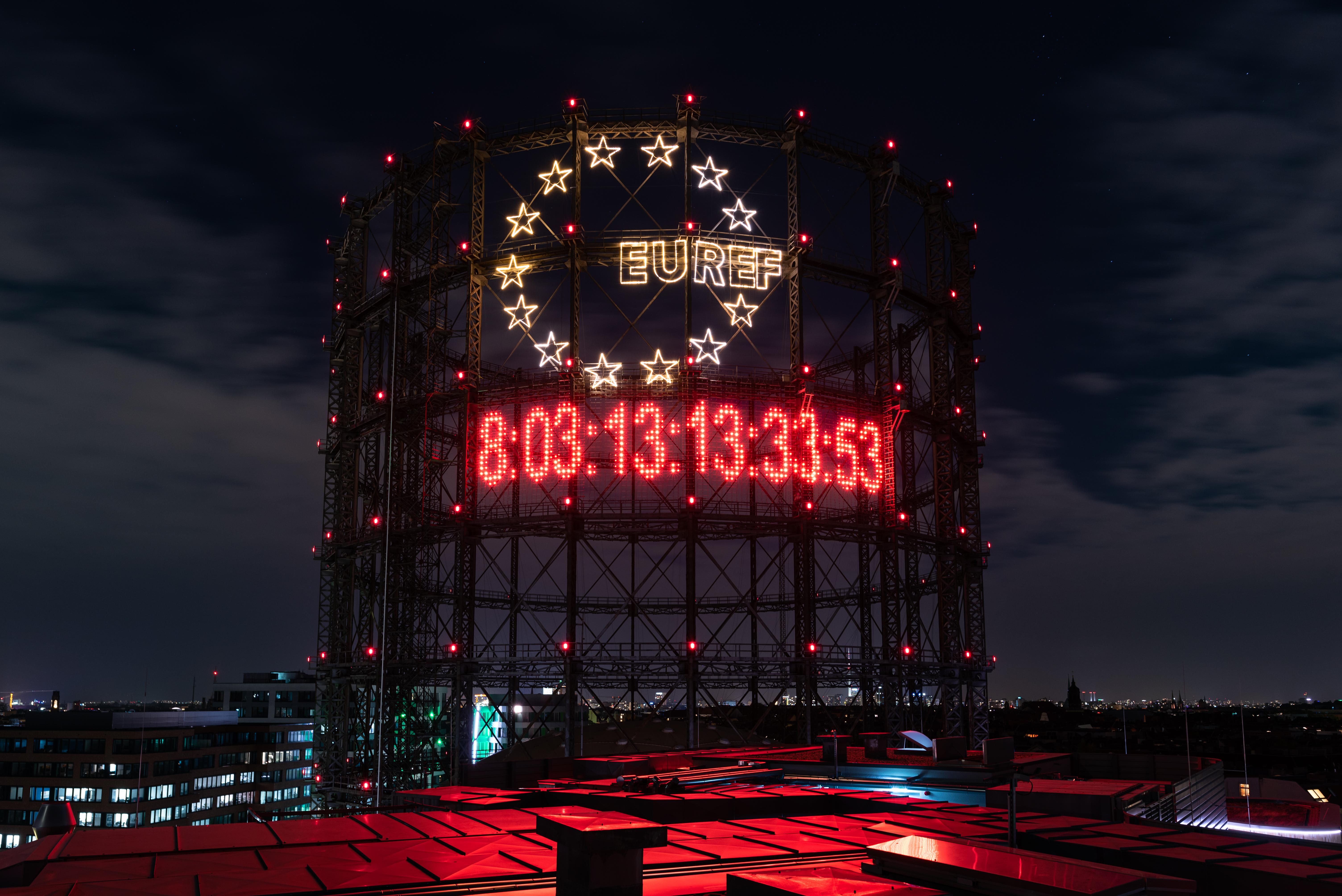 Carbon Clock © EUREF / Andreas Schwarz